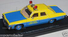 """Auto World 1/43 NYSP New York State Police 1974 Dodge Monaco """"Sunoco Special"""""""