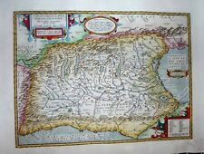 1603 Ortelius Northern Italy in the Roman Empire Classic Parergon Historical Map