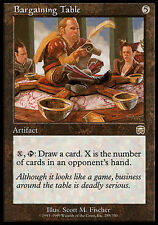 1x Bargaining Table Mercadian Masques MtG Magic Artifact Rare 1 x1 Card Cards