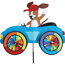 Dog Fun Car Vehicle Staked Wind Spinner With Pole and Ground Mount.24.Pr 26751