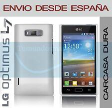 CARCASA FUNDA DURA BLANCA LG OPTIMUS L7 P700 / P705 EN ESPAÑA