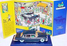 TINTIN Hergé 1:43 MERCEDES-BENZ 600 1964 Atlas Comic Book TV Model Car 011 MIB!