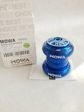"zestbicycleshop MOWA AHS 1-1/8"" Threadless Headset, BLUE"