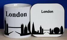 London Skyline Mug and Coaster Set