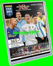 Panini Adrenalyn FIFA 365 Binder Sammelmappe Binder Nordic Edition limited
