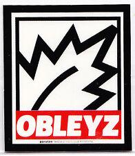 OBLEYZ Sticker Parotee Marijuana Collectible Funny Decal Weed Ganja Bong Smoke