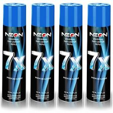 4 CANS IGNITUS NEON BUTANE GAS 300ml 7X REFINED FILTERED LIGHTER REFILL FUEL