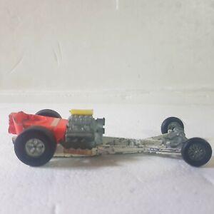 Vintage Dinky front engine top fuel dragster 1:43