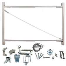 "Adjust-A-Gate Steel Frame Gate Building Kit, 36""-72"" Wide Opening Up To 6' High"