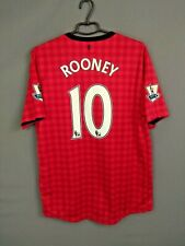 Rooney Manchester United Jersey 2012 2013 Home L Shirt Red Nike 479278-623 ig93