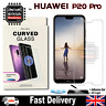 Huawei P20 Pro UV Glue Nano Optics 3D 9H Curved Tempered Glass Screen Protector