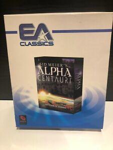 Sid Meier's ALPHA CENTAURI Pc Cd Rom Classics BIG BOX - Fast Postage UNUSED
