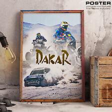 POSTER Dakar 2020 Saudi Arabia Auto Moto Rally Paris Dakar Truck Motorrad Camion