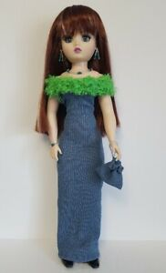 "CISSY DOLL CLOTHES Stole, Dress, Purse and Jewelry 21"" HM Fashion NO DOLL d4e"