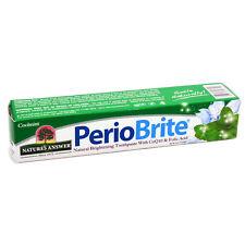 Nature's Answer periobrite Sbiancante Dentifricio 113.4g ORIGINALE! UK STOCK!