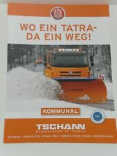 TATRA TRUCKS KOMMUNAL Prospekt von 07/2021 ( 3062 )