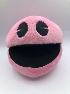 Pacman Battle Rolyale Bandai Namco Pink Plush Kids Soft Stuffed Toy Pac Man