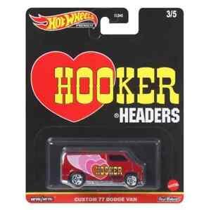 Hot Wheels Premium Speed Shop Garage Custom 77 Dodge Van