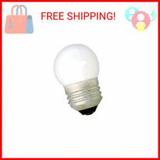 GE Incandescent Light Bulbs, S11 Night Light Bulbs, 7.5-Watts, 39-Lumens, So …
