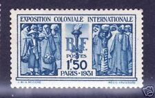 """FRANCE STAMP TIMBRE N° 274 """" EXPOSITION COLONIALE 1F50 """" NEUF xx TTB,VALEUR:110€"""