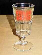 "VINTAGE OLD 8 1/2"" HIGH LUMS RESTAURANT LAKE GEORGE NY SODA BEER GLASS"