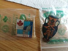 2 Canadian NOC Athens 2004 pins