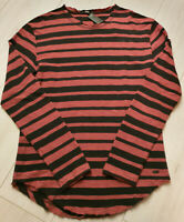 Tigha Herren  Sweater Pullover Lio Black/Red Steam Größe M