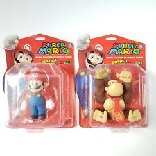 """Super Mario Figurine Collection 5"""" Collectable Figures Mario & Donkey Kong - NEW"""