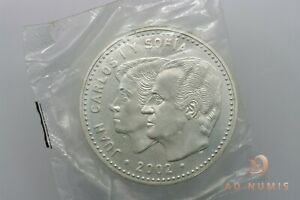 12€ euro 2002 Presidencia de la Union Europea Espagne scellé FDC Argent