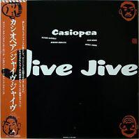 CASIOPEA / JIVE JIVE / JAZZ / FUSION / ALFA JAPAN OBI