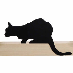 ARTORI Design Cats' Meow Churchill Cat Statue Figurine Metal Silhouette Décor