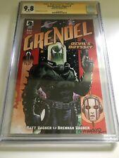9.8 CGC SIGNATURE SERIES - GRENDEL DEVIL'S ODYSSEY #1 - MATT WAGNER SIGNED
