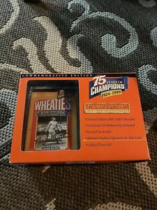 Wheaties 75 Years of Champions Mini Box Collectibles Babe Ruth