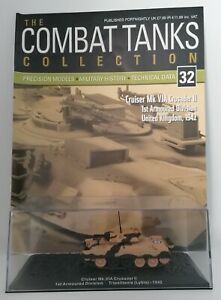 DeAgostini - Combat Tanks Collection - Cruiser Mk.VIA Crusader II. 1st Armoured