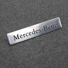Aluminum Car Auto Decals Emblem Sticker Badge Accessories Logo For Mercedes-Benz