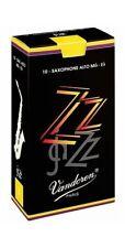 VANDOREN ZZ JAZZ ALTO SAXOPHONE REEDS 2.5 10/box