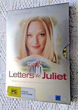 LETTERS TO JULIET – DVD (METAL SLIP CASE) R-4, NEW, FREE POST IN AUSTRALIA