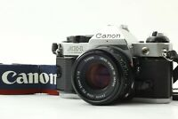 【EXC+++】 Canon AE-1 Program Silver SLR w/ FD 50mm f/1.8 Lens from JAPAN # 322