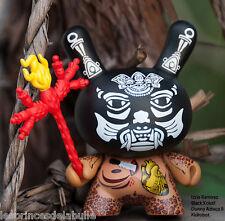 Kidrobot Dunny Azteca Series 2 - Figure Figurine Xolotl Voodoo by Izzie Ramirez