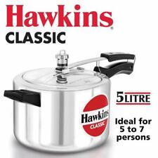 Hawkins Classic Aluminum 5.0 Liter Rice Pressure Cooker New LATEST MODEL CL50