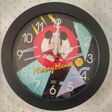 """MICKEY MOUSE, 10"""" Wall CLOCK, Disney (NIB) Disney Channel Club"""