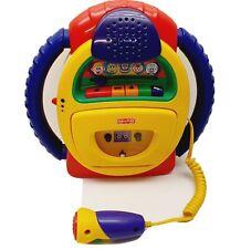 Fisher-Price Kinder Kassettenrecorder mit Micro und Stimmverzerrer - 999