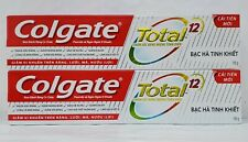 2-Colgate Total Clean Mint Toothpaste 190g