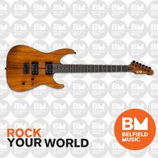 ESP LTD M-1000HT Electric Guitar Natural KOA w/ Hipshot Hard Tail Bridge