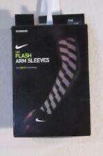NWT Nike Flash Arm Sleeves Running Sleeves S/M Black MSRP$40