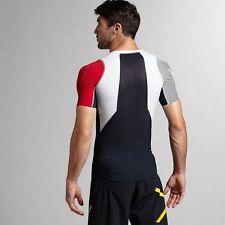 Hombre Nuevo Reebok crossfit camiseta compresión de control de entrenamiento 2 S/S M Mediano