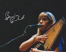 BASIA BULAT Autoharp Musician Signed 8x10 Glossy Photo Infamous Fool