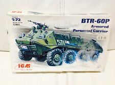 BTR-60P A.P.C. RUSSIAN  MODEL KIT  1/72 SCALE  TANKS/TRUCKS 72901