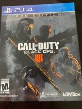SEALED Call of Duty: Black Ops 4 Pro Edition PS4 PlayStation **FREE SHIPPING**