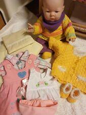 Berenguer Baby Puppe Reborn 35-08 mit Bekleidung